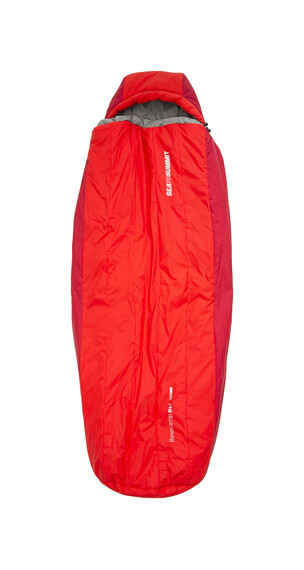 Sea to Summit BaseCamp Bs4 - Sac de couchage - long rouge